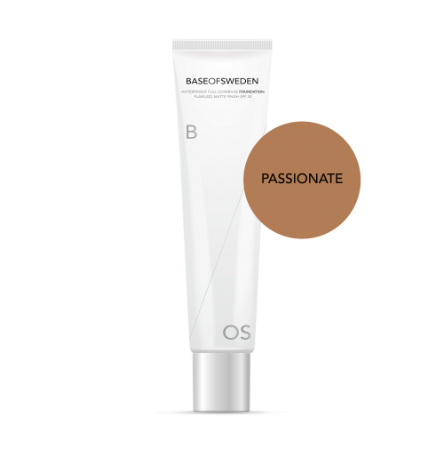 Waterproof Full Coverage Foundation SPF 30 - Passionate