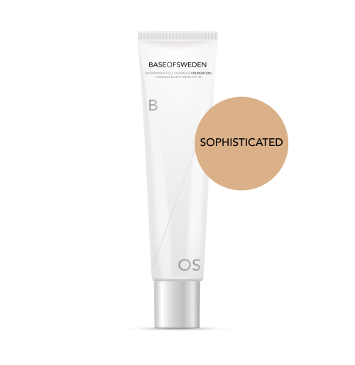 Waterproof Full Coverage Foundation SPF 30 - Sophisticated