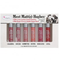 Meet Matt(e) Hughes 6 Mini Long-Lasting Liquid Lipsticks