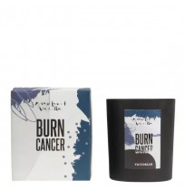 Burn Cancer Doftljus Silver