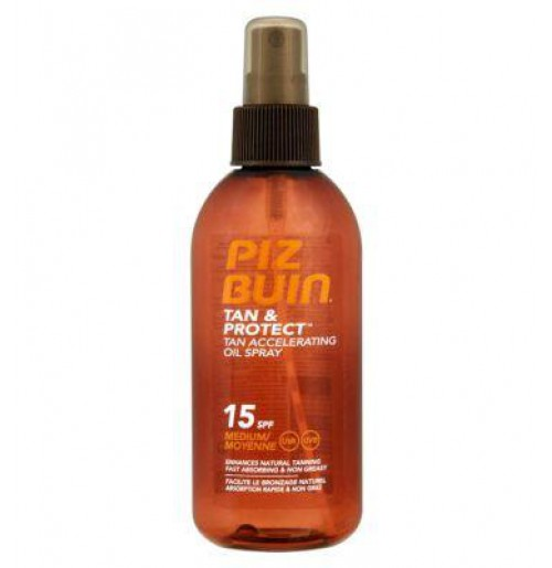 Tan & Protect Tan Accelerating Oil Spray SPF15